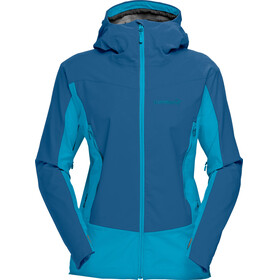 Norrøna Falketind Windstopper Hybrid Jacket Women blue